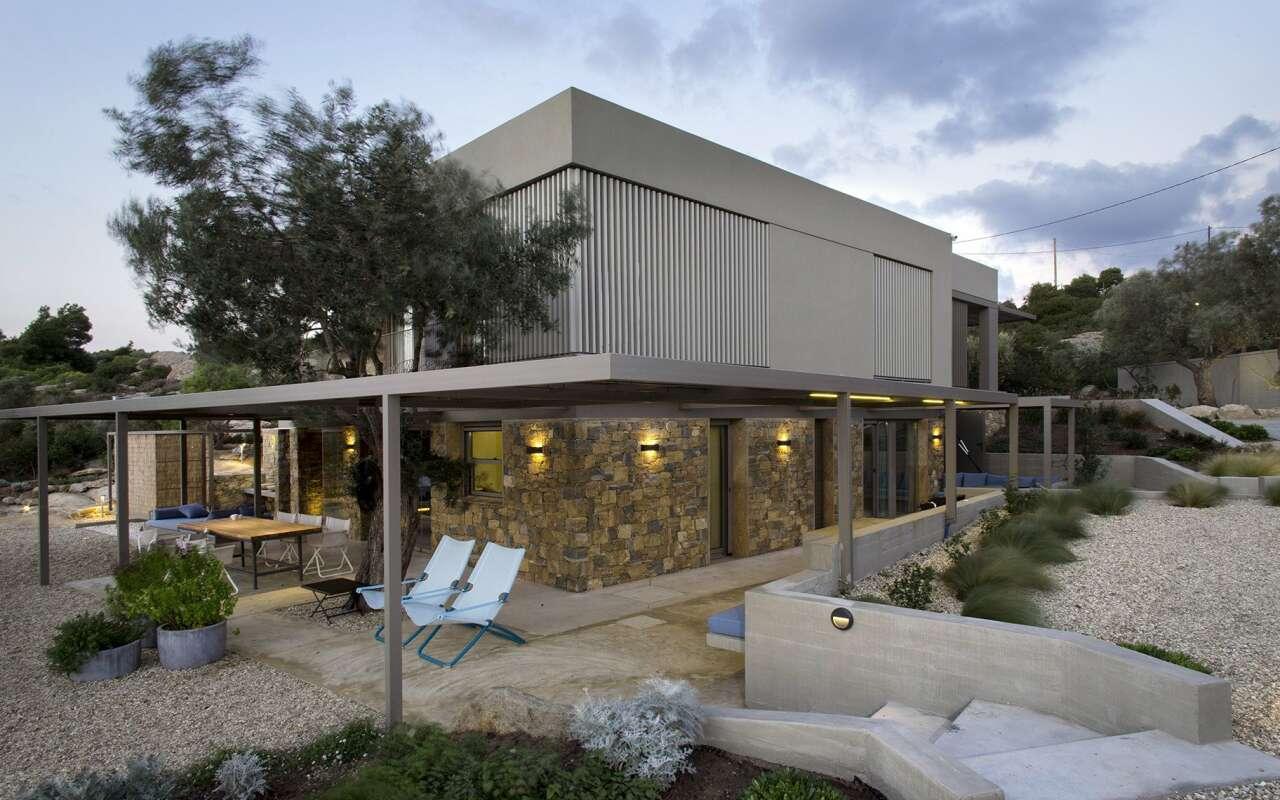 Blue Scene Villa with private beach, Lagonisi