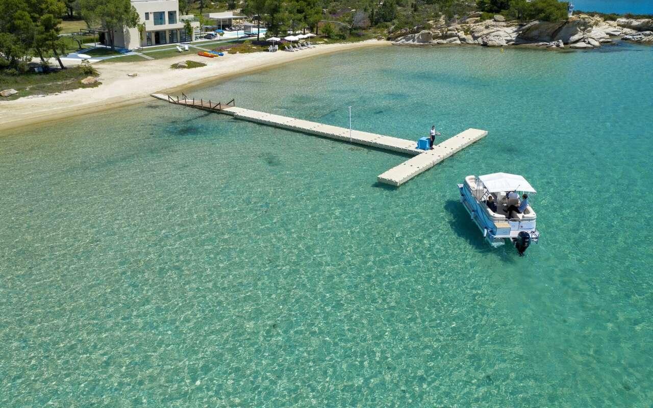 Lagoon, Diaporos Island