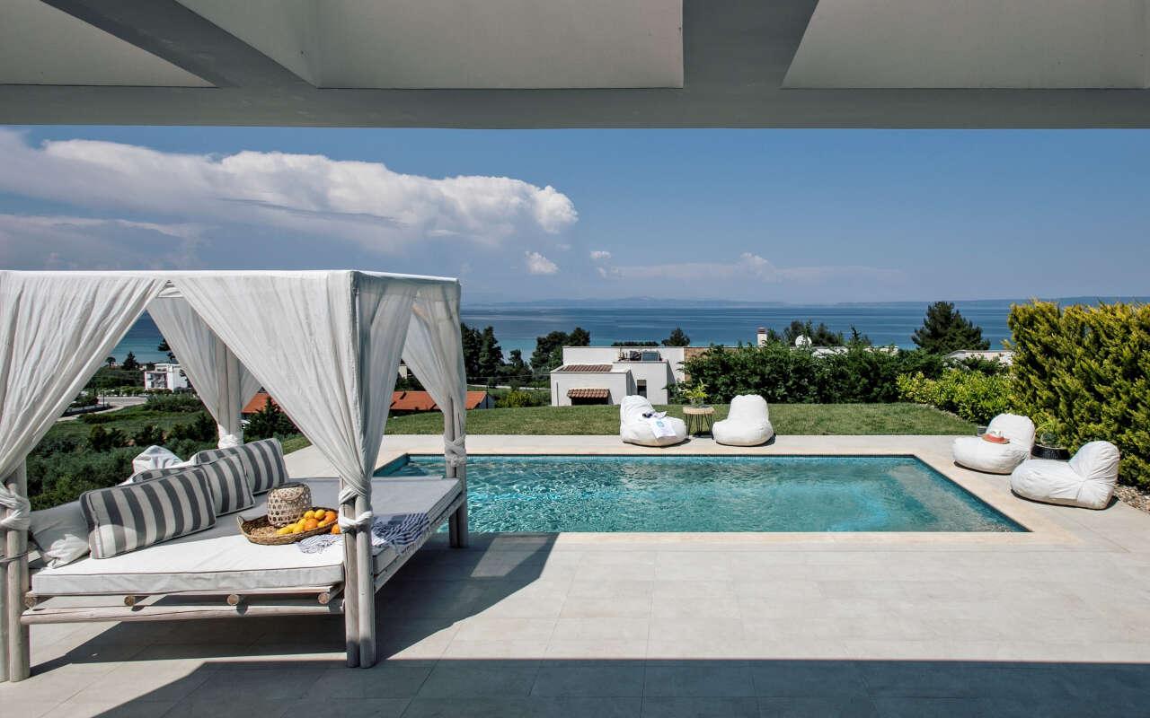 Bellevue Queen private pool Villa, Chanioti