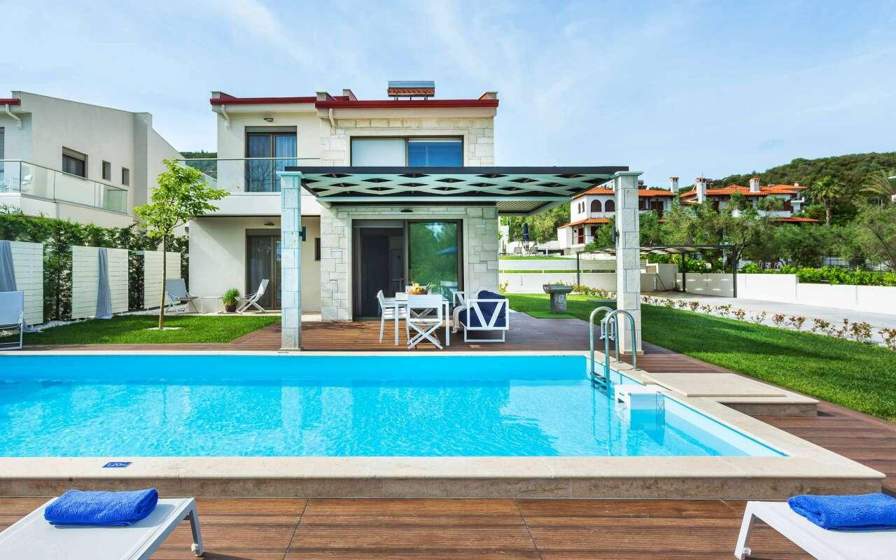 W Villas Deluxe Private Pool, Pefkochori