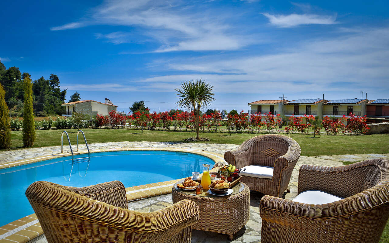Nefeli Queen private pool Villa, Nea Skioni