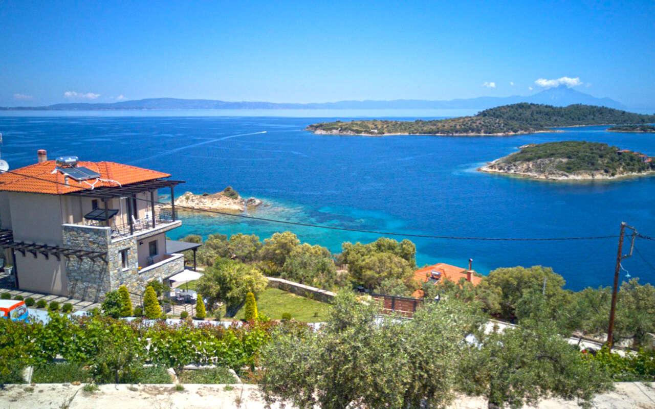 Aeriko Amazing Sea View Villa, Vourvourou