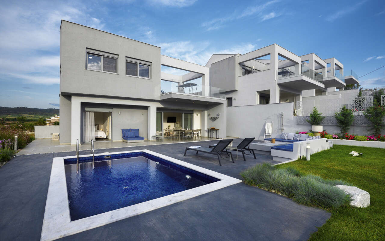 Soleado Elegant Private pool Villa, Fourka