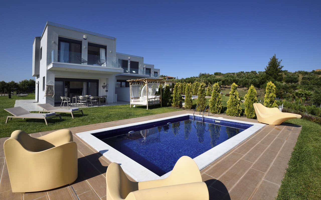 Soleado Deluxe Private pool Villa, Fourka