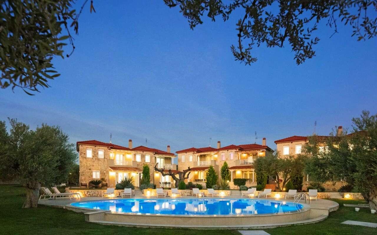 Kassandra Classic Villa, Poluchrono