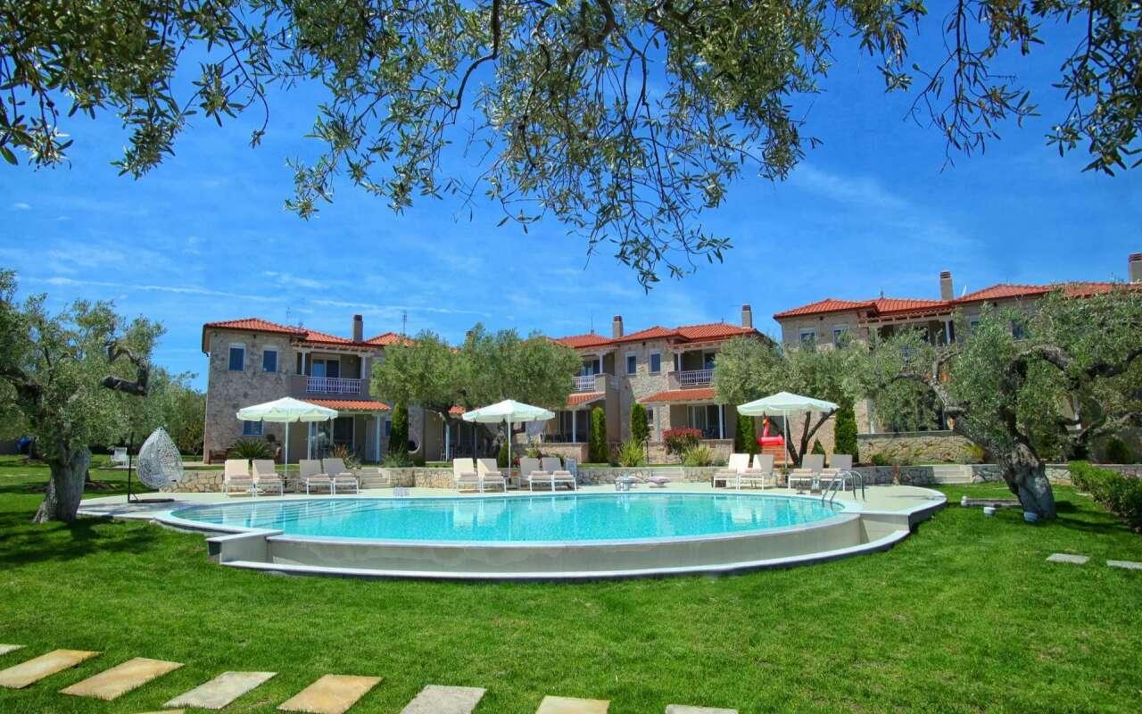 Kassandra Romantic Villa, Poluchrono