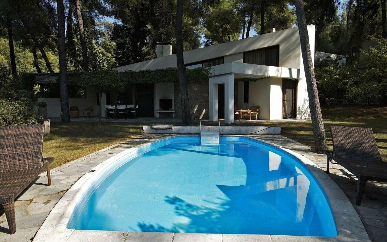Muses Private pool Nefeli Villa, Sani