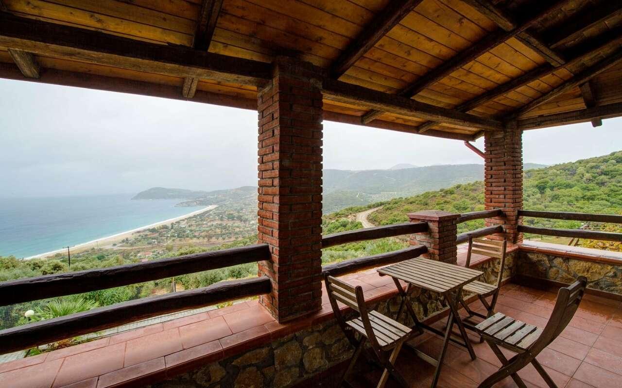 Sea view stone house 1, Pyrgadikia